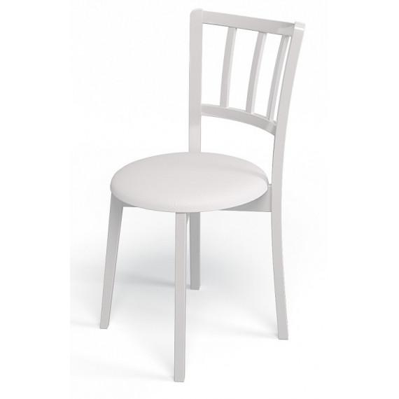 Стул 105М белый/белый