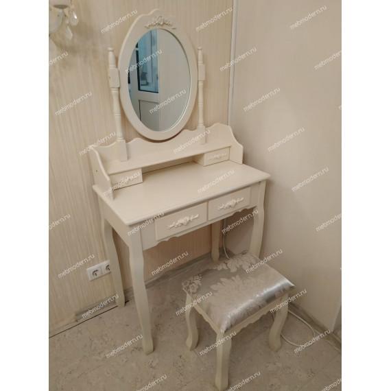 Туалетный столик с зеркалом и табуретом Secret De Maison ARNO ( mod. HX18-263 )