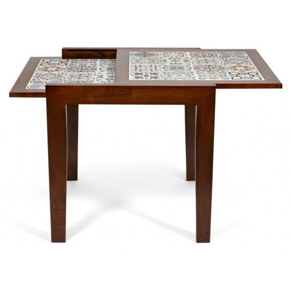 CT 3030 Kasablanca стол раскладной с плиткой темный дуб