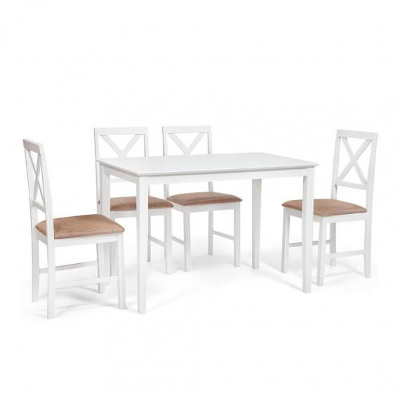 Обеденная группа «Хадсон» Hudson Dining Set pure white
