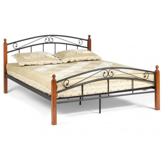 Кровать AT-8077 Wood slat base 160х200