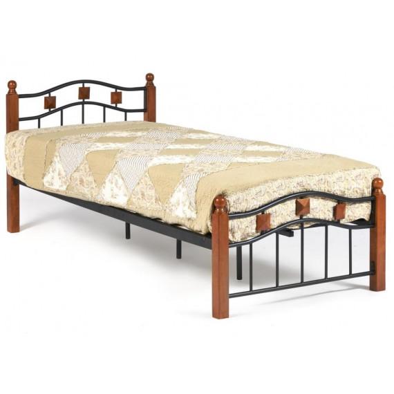Кровать AT-126 Wood slat base 90x200