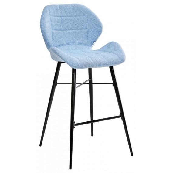 Барный стул MARCEL TRF-10 небесно-голубой, ткань