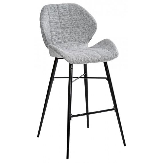 Барный стул MARCEL TRF-08 теплый серый, ткань