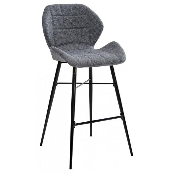 Барный стул MARCEL TRF-09 серый кварц, ткань