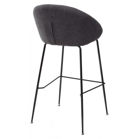Барный стул AMEKA 9105-24 темно серый