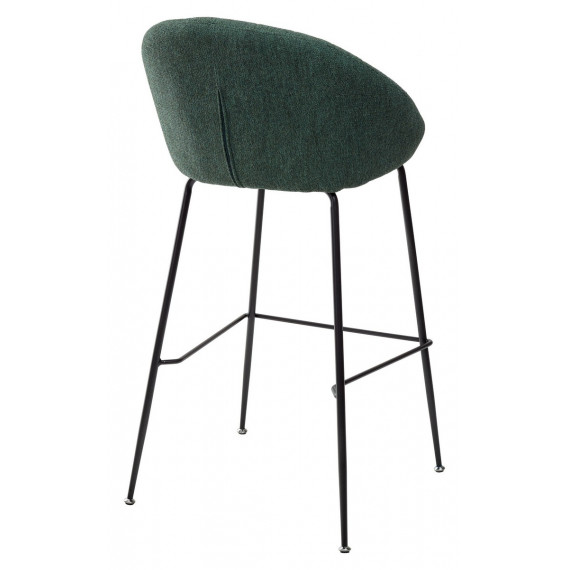 Барный стул AMEKA 9105-17 изумруд