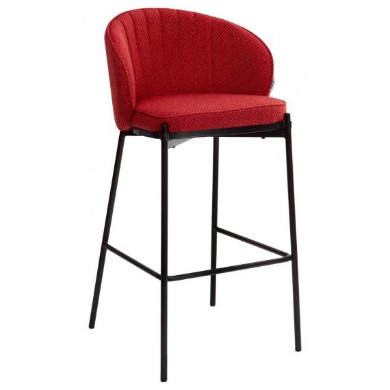 Барный стул WENDY TRF-04 красный, ткань