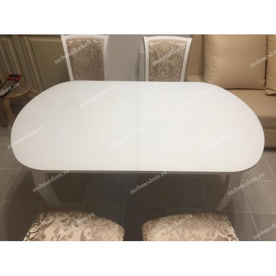 Обеденная группа стол 1300С + 4 стула М15 ткань