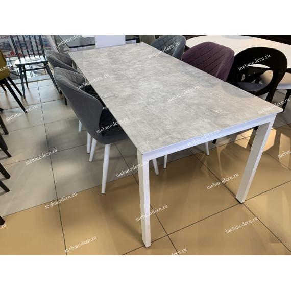 Обеденная группа E1300 белый - цемент + 4 стула 238