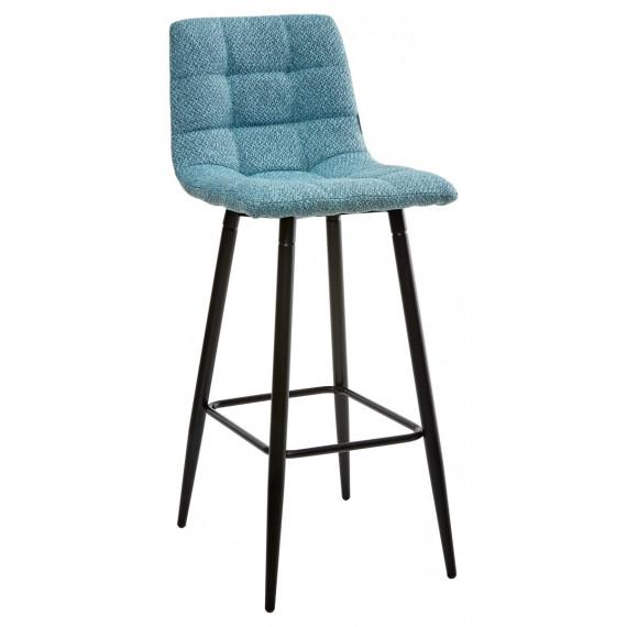 Барный стул SPICE TRF-07 морская волна, ткань