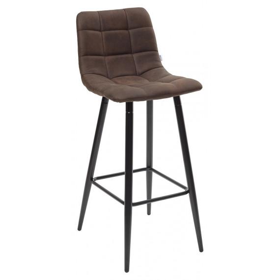 Барный стул SPICE PK-03 коричневый, ткань микрофибра