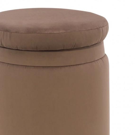 Пуф LESET ЭНДИ молочный шоколад