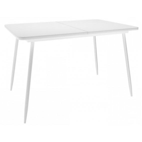 Стол DikLine LS122 белый/стекло белое