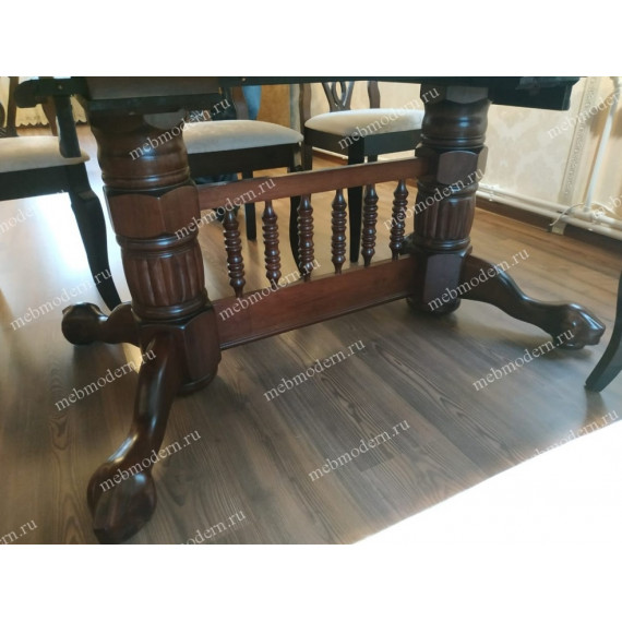 Обеденная группа стол 4296 SWC и 6 стульев Афродита