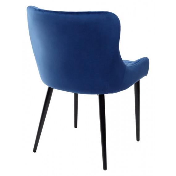 Стул SORREL глубокий синий, велюр G108-67