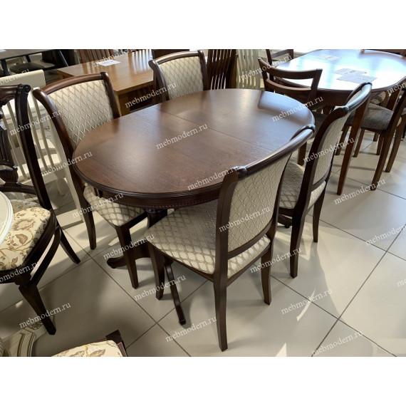 Стол обеденный Альт 12-11(9, D, R6)