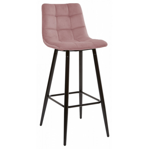 LECCO UF910-07 PINK барный стул, велюр