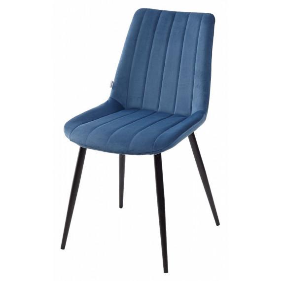Стул FLIP полуночный синий, велюр G108-66