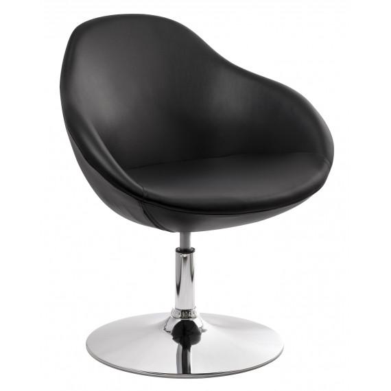 Барное кресло из экокожи A639 черное