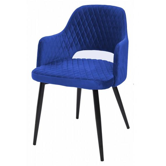 Стул FANTINE глубокий синий, велюр G108-67