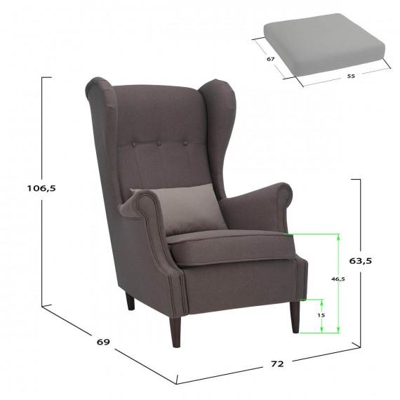 Кресло Leset Montego Melva 72