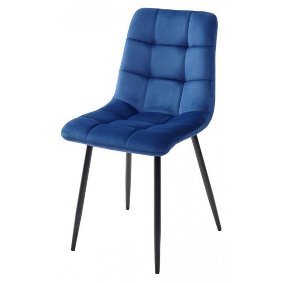 Стул CHILLI G062-49 синий, велюр