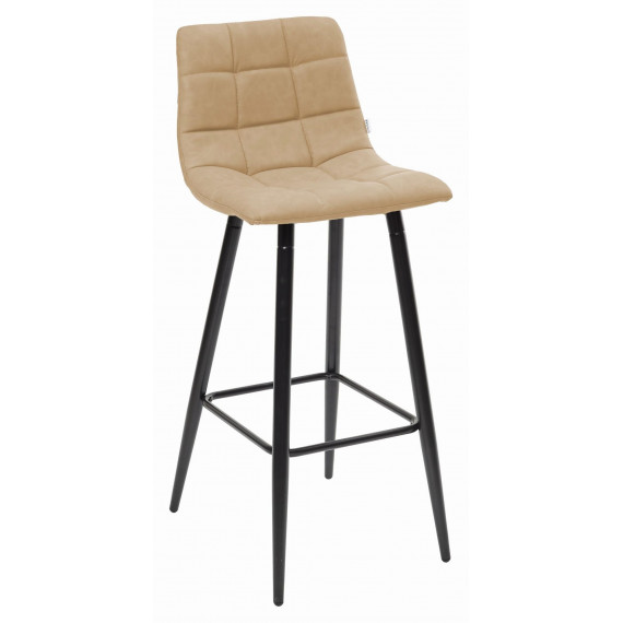 Барный стул SPICE RU-16 бежевый винтаж, PU