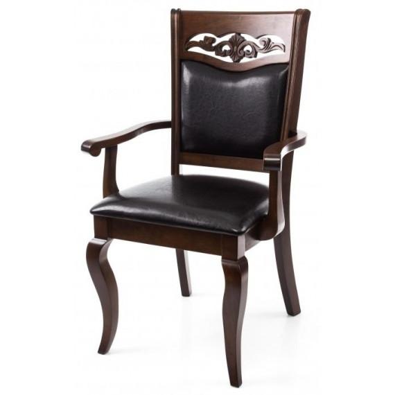 Кресло Drage cappuccino с подлокотниками