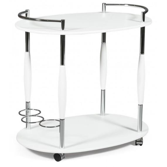 Сервировочный столик SC-5037-белый