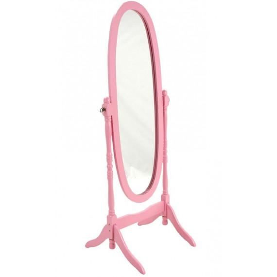 MK-2301-PN. Зеркало напольное розовый