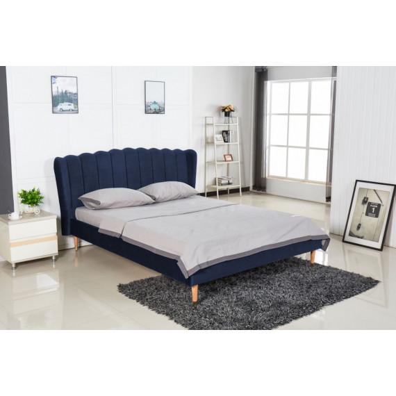 Кровать XS-9088 MK-7602-BU двуспальная