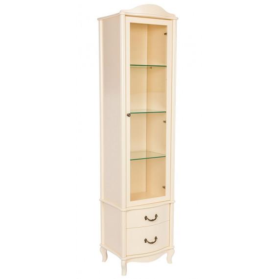 Шкаф-витрина Джульетта дуб шампань