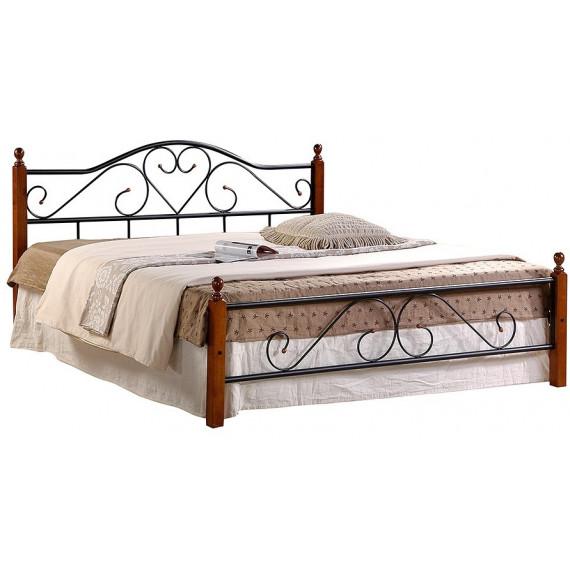 Кровать AT-815 (метал. каркас) + металл. основание (180x200)