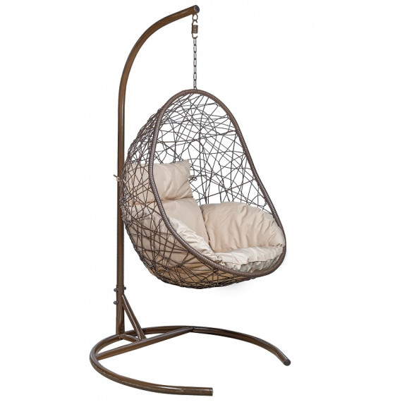 Кресло подвесное LESET САОНА коричневое
