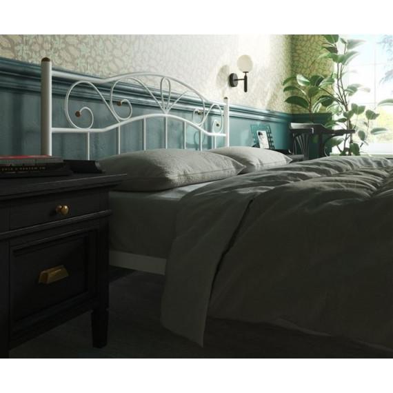 Кровать Глэдис с изножьем (140х200, белый)