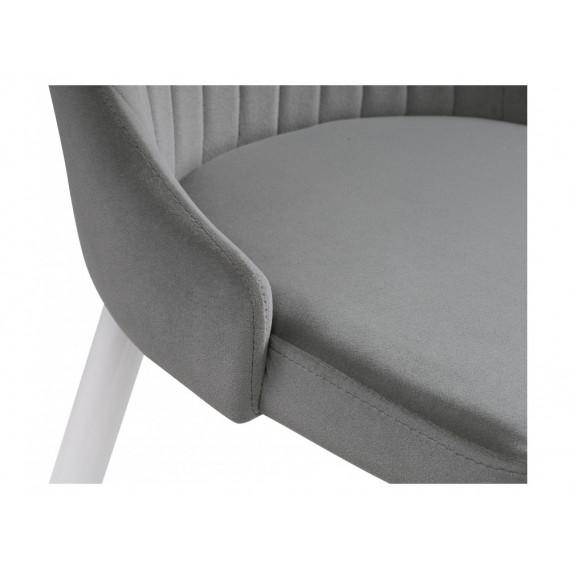 Стул Kora gray/white