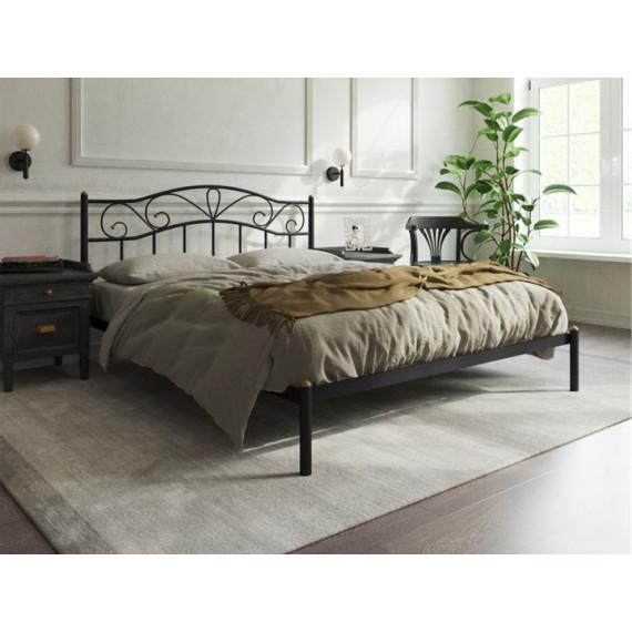 Кровать Глэдис без изножья (140х200, черный)