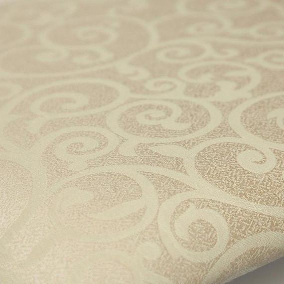 Стул - Афродита/ Aphrodite Ivory white ткань кремовая с рисунком (3321)
