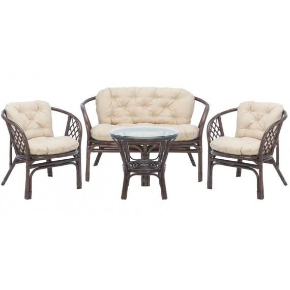 Набор мебели PELANGI кофе/круглый стол
