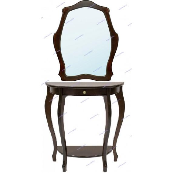 Консоль Элегант + зеркало Элегия