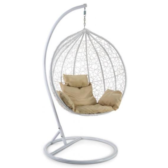Кресло подвесное (mod. SC-003) с подушкой белый