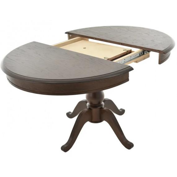 Стол Фабрицио 1 (D 1000), Тон 7 темный орех