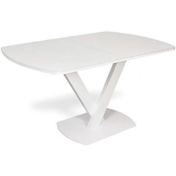 Стол V120-V140 белый