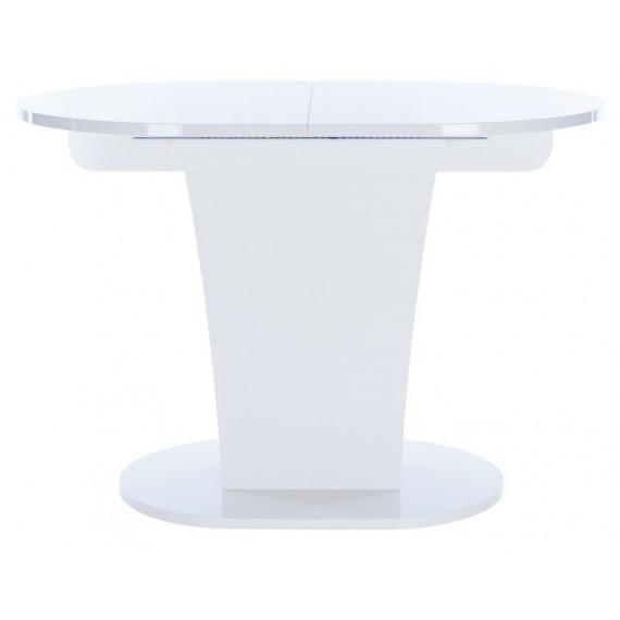 Стол Leset Флер белый глянец