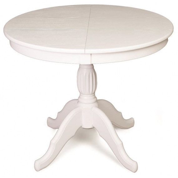 Стол обеденный Лилия-0090 (белая эмаль)