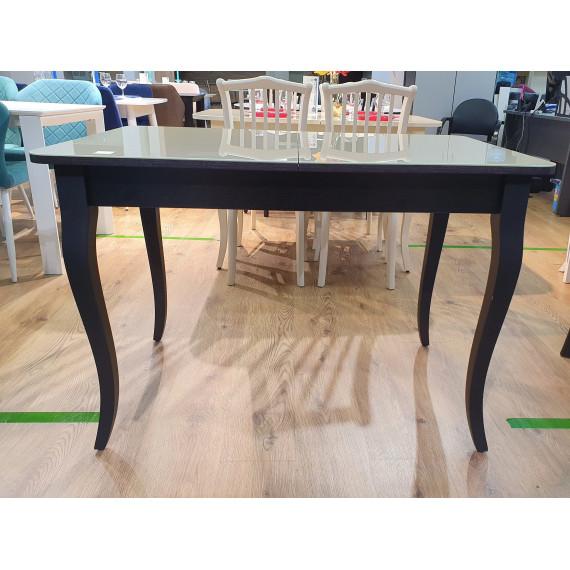 Обеденная группа стол 1100С крем и 4 стула 103 венге/шоколад