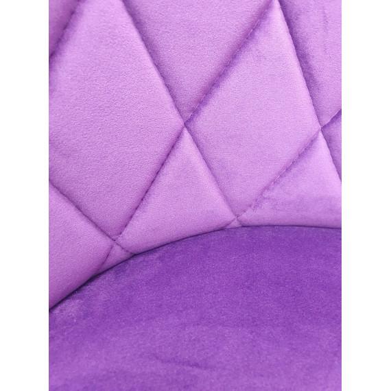Стул Kenner 149KR фиолетовый 38/белый каркас