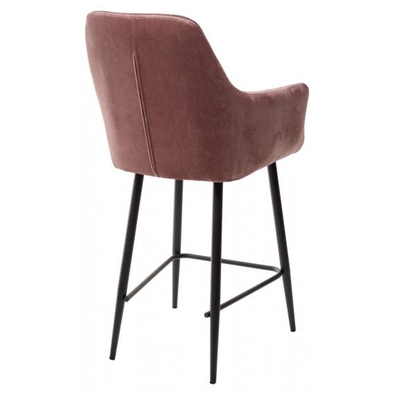 Полубарный стул Роден Blitz 08 Сиреневый, велюр H 65cm