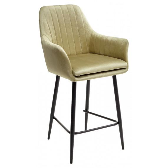 Полубарный стул Роден Blitz 17 Лайм, велюр H 65cm